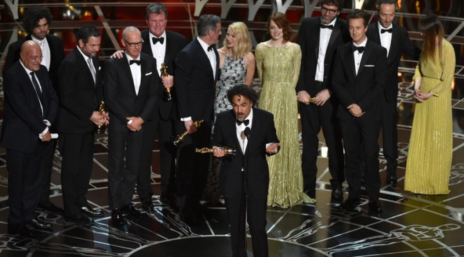 Winners of the 87th Academy Awards